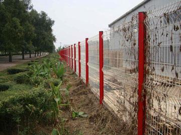 桃形立护栏网